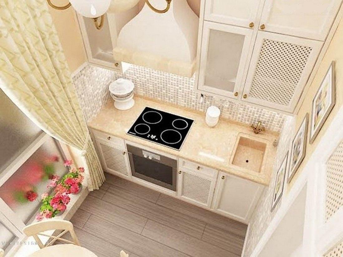 Дизайн маленькой кухни: творим с душой, экономим с умом