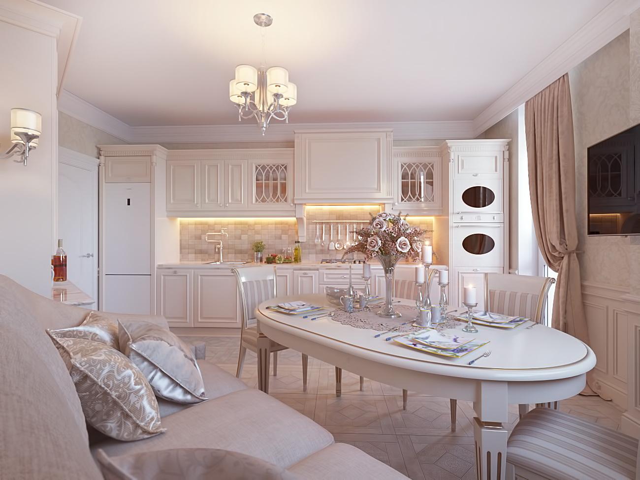 Дизайн трехкомнатной квартиры: подготавливаем помещение к ремонту