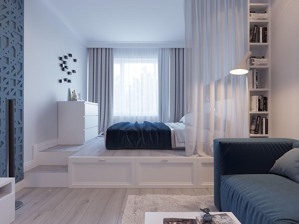Дизайн маленькой спальни в современном стиле: секреты и нюансы